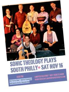 Sonic Theology South Philly Flyer